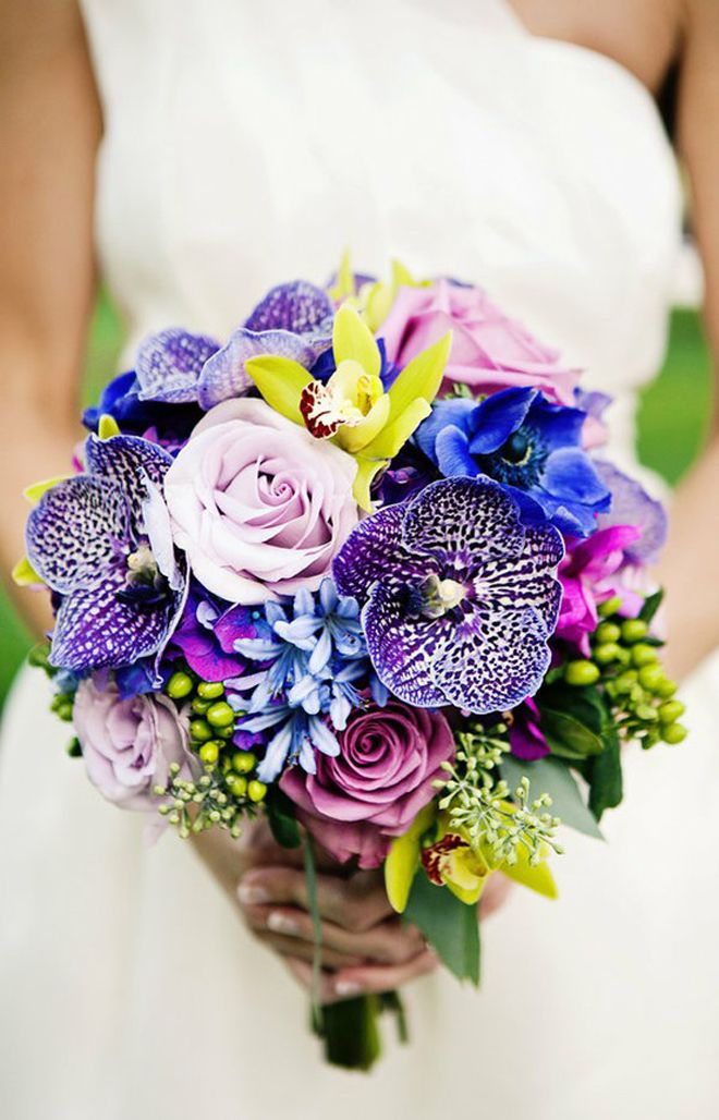 Blue wedding color combination ideas dream weddings start here blue purple and yellow wedding ideas blue wedding ideas eventdazzle mightylinksfo
