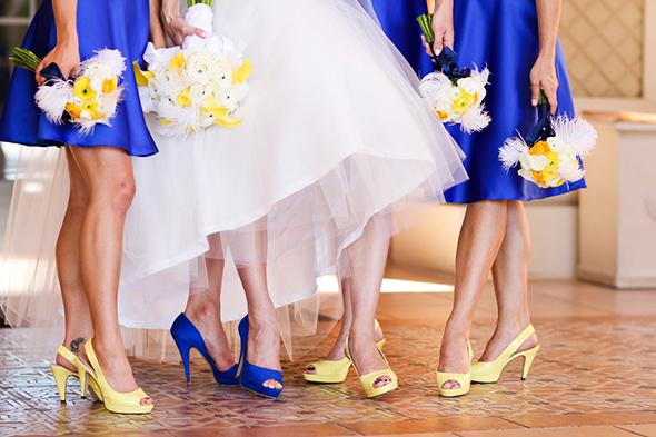 Blue Wedding Color Combination Ideas | Dream Weddings Start Here