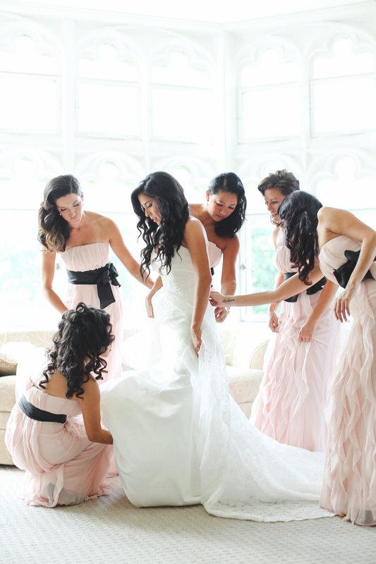 Blush Pink Wedding Color Combination Ideas Dream Weddings Start Here
