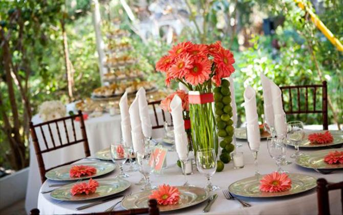 Coral Wedding Color Combination Ideas | Dream Weddings Start Here