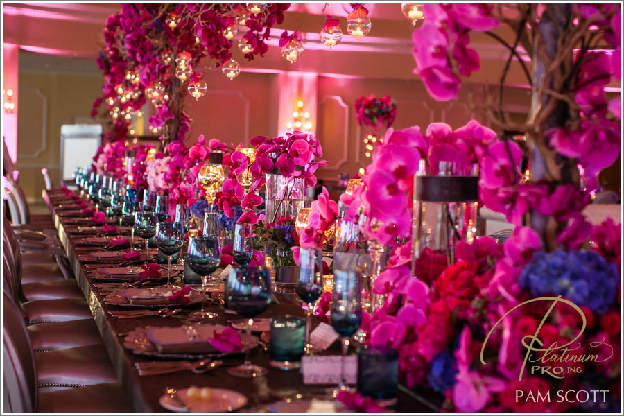 Fuchsia and Hot Pink Wedding Color Combination Ideas | Dream ...