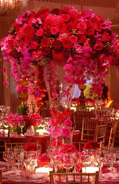 Fuchsia and Hot Pink Wedding Color Combination Ideas   Dream ...