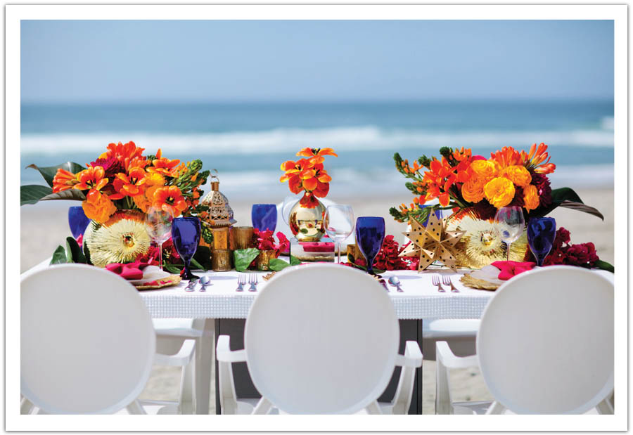 Orange Wedding Color Combination Ideas | Dream Weddings Start Here