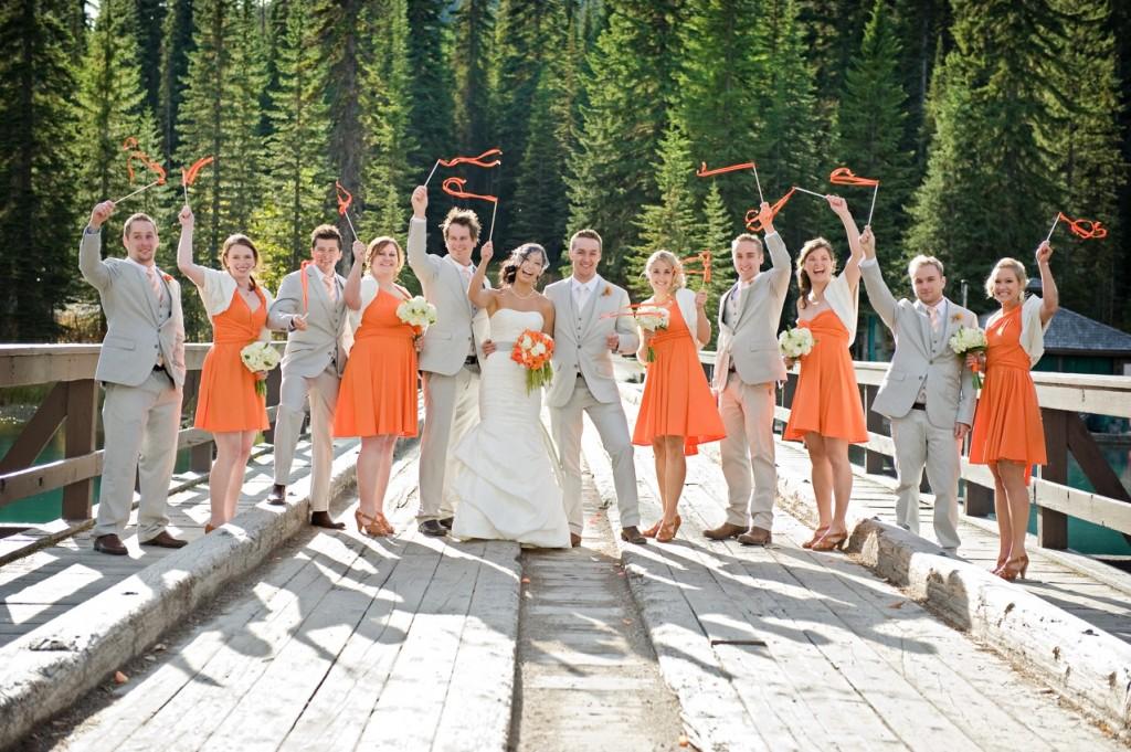Orange Wedding Color Combination Ideas Dream Weddings Start Here