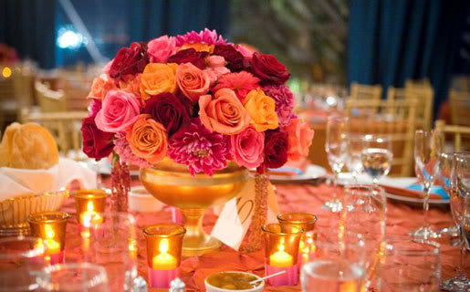 Orange wedding color combination ideas dream weddings