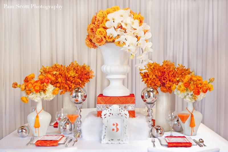 Orange wedding color combination ideas dream weddings start here orange and white wedding ideas orange wedding ideas eventdazzle junglespirit Choice Image