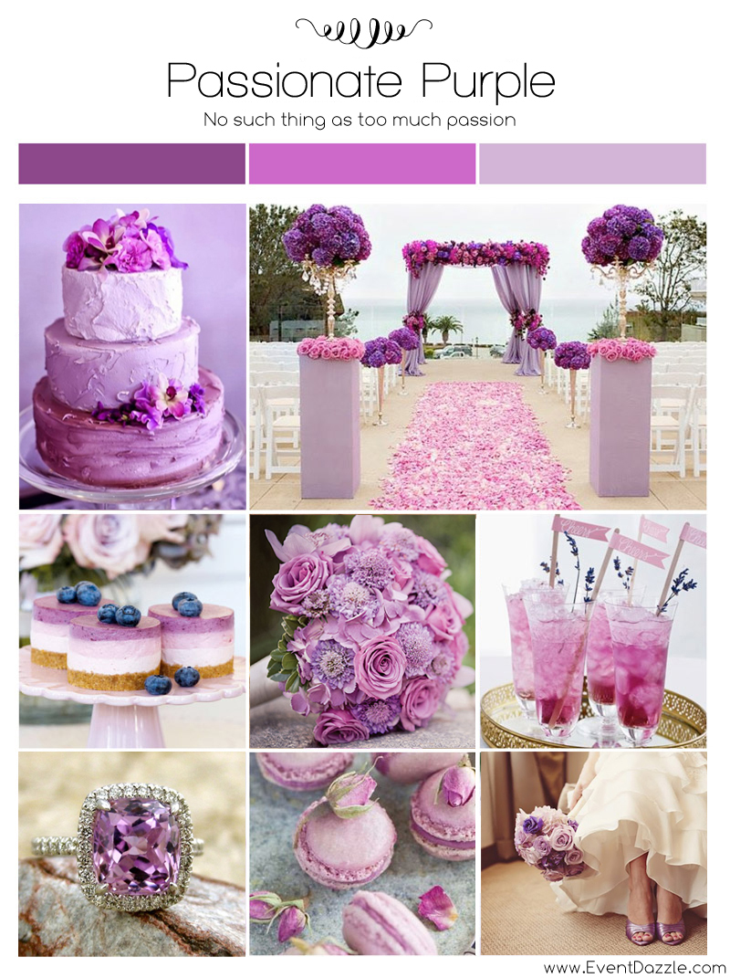 Passionate Purple Wedding Theme Dream Weddings Start Here