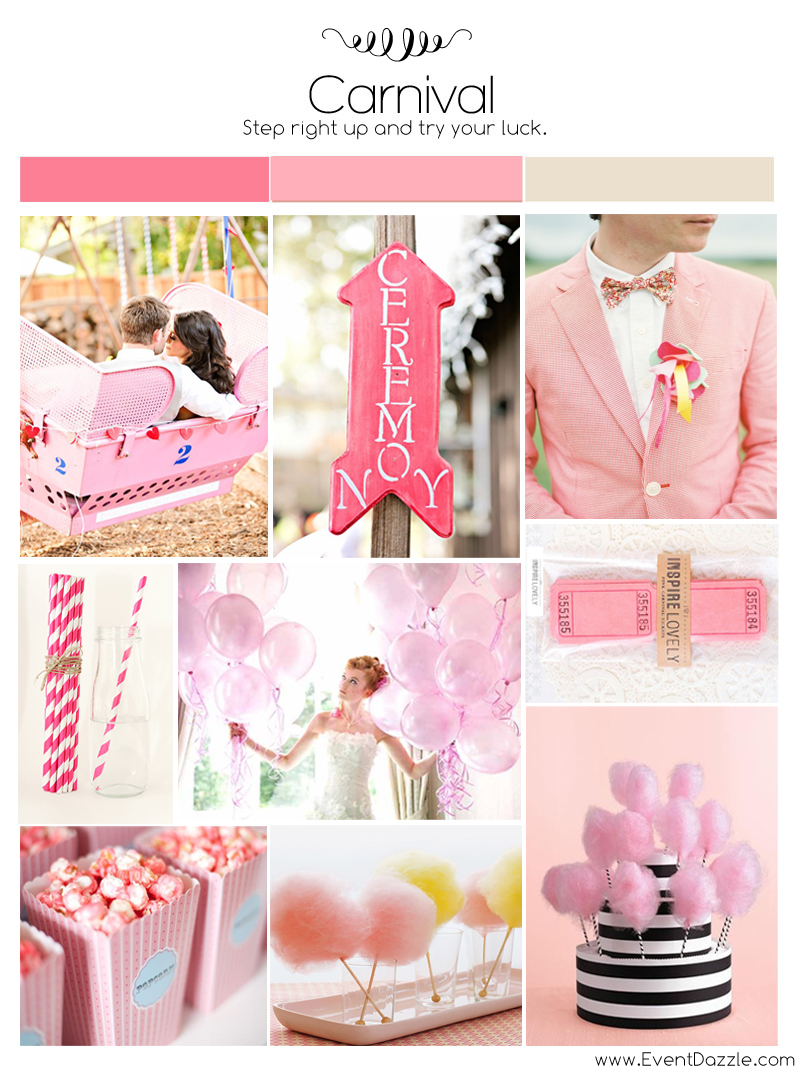 Pink Carnival Wedding Theme | Dream Weddings Start Here