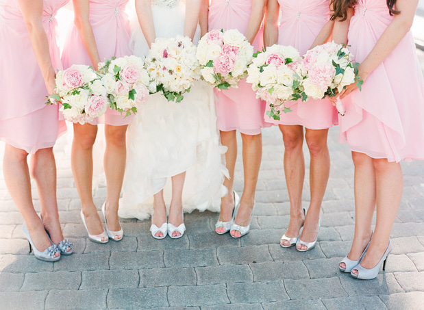 Pink And Ivory Wedding Ideas