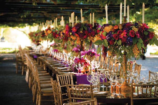 Purple Green And Gold Wedding Ideas
