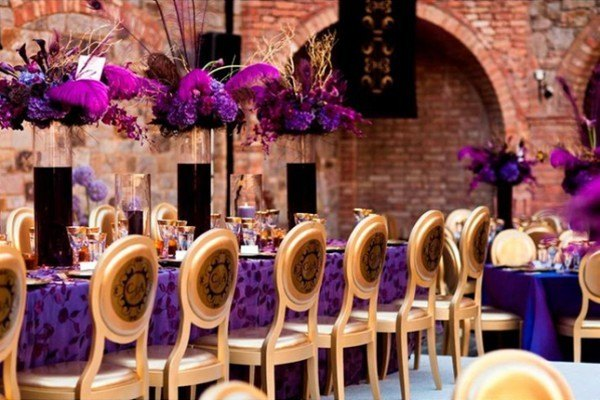 Plum purple wedding color combination ideas dream weddings start here purple and gold wedding ideas purple wedding ideas eventdazzle junglespirit Choice Image
