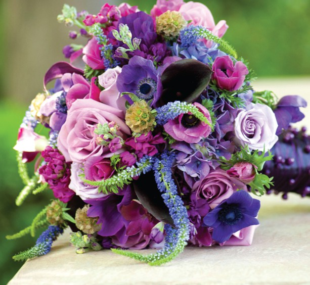 Plum Purple Wedding Color Combination Ideas