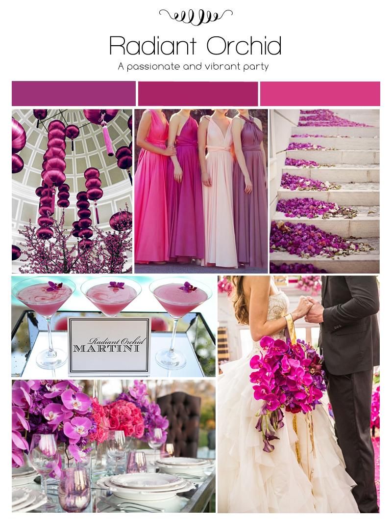 Radiant Orchid Wedding Ideas   Dream Weddings Start Here
