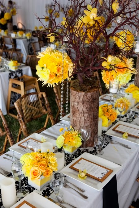 Yellow wedding color combination ideas dream weddings start here yellow brown and black wedding ideas yellow wedding ideas eventdazzle junglespirit Images