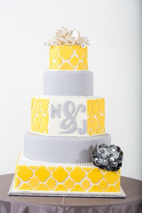 Yellow and Grey Wedding Idea Lookbook | Dream Weddings Start Here