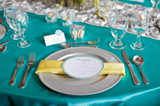 Brown And Teal Wedding Ideas: Yellow Wedding Color Combination Ideas
