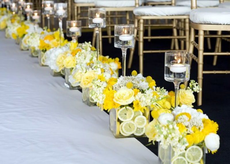 Captivating Yellow And White Wedding Ideas | Yellow Wedding Ideas | EventDazzle