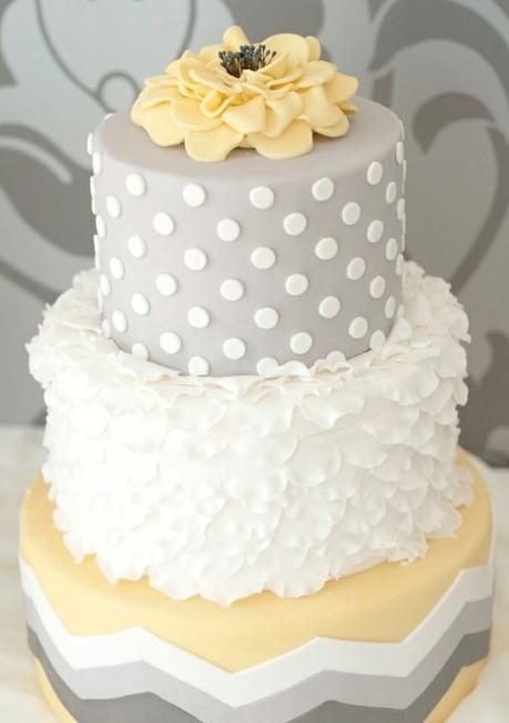 Yellow and Grey Wedding Idea Lookbook   Dream Weddings Start Here
